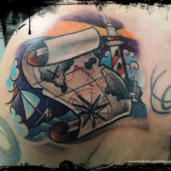 Tattoo-Schiff-Entdecker