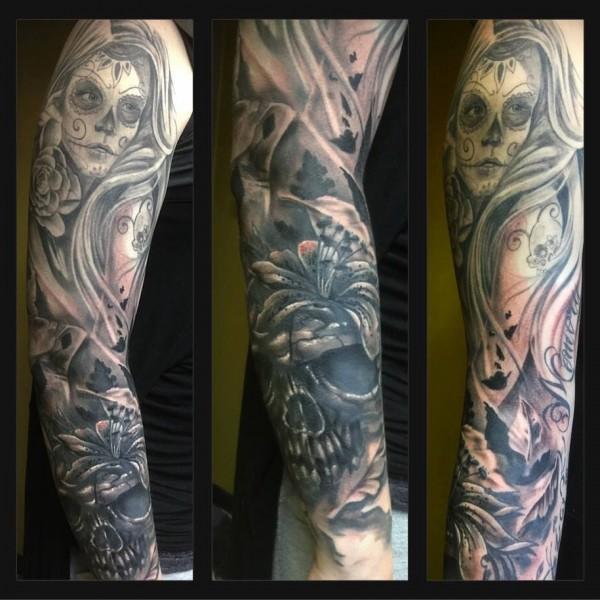 Tattoo-Arm