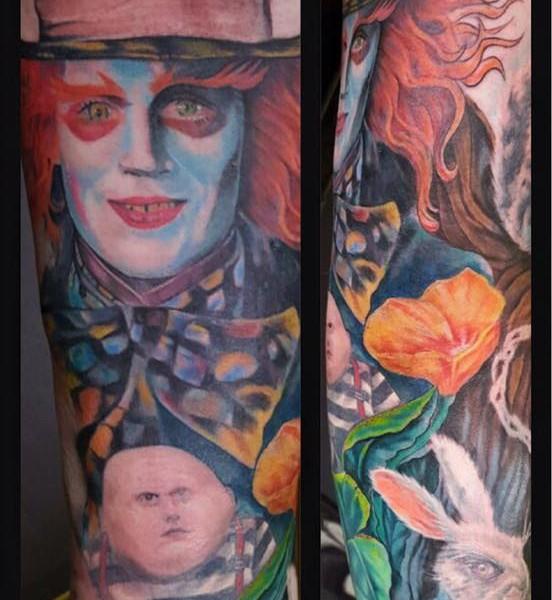 Tattoo-Alice in Wunderland