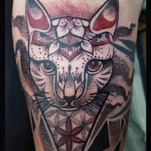 Tattoo-Katze