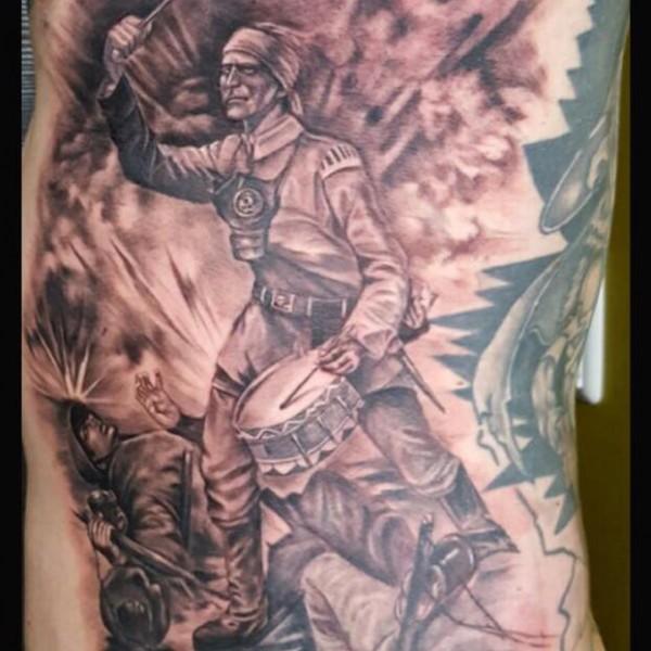 Tattoo-Krieg