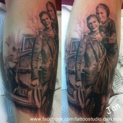 Tattoo-Porträt