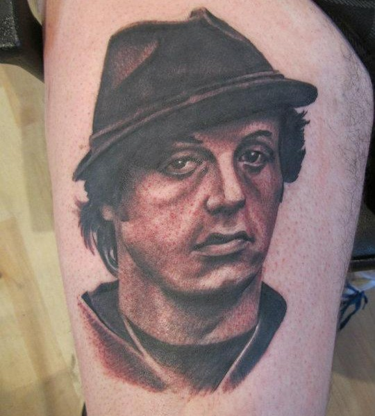 Tattoo-Sylvester Stallone Sly
