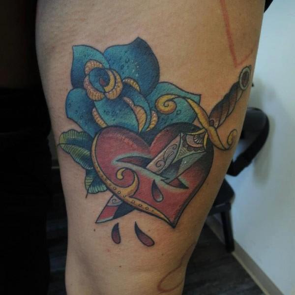 Tattoo-Herz