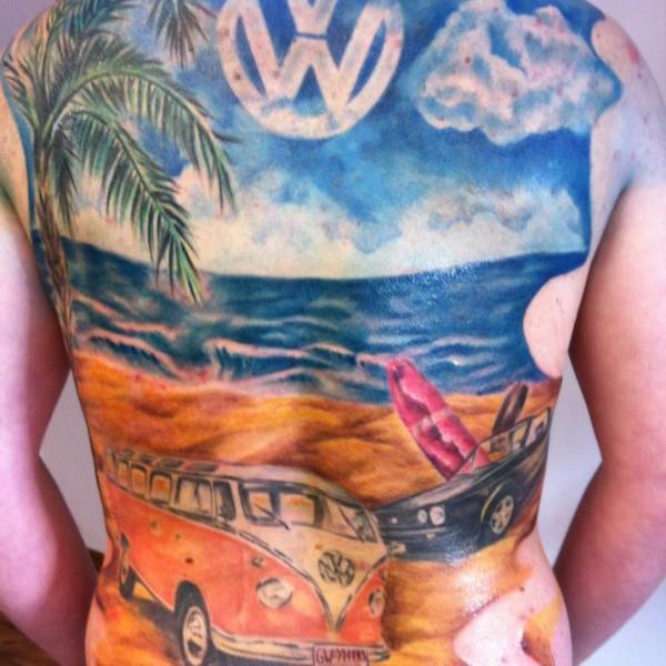 Tattoo-VW-Bulli