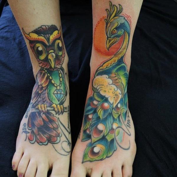 Tattoo-Füße