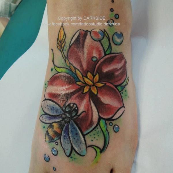 Tattoo-Blume