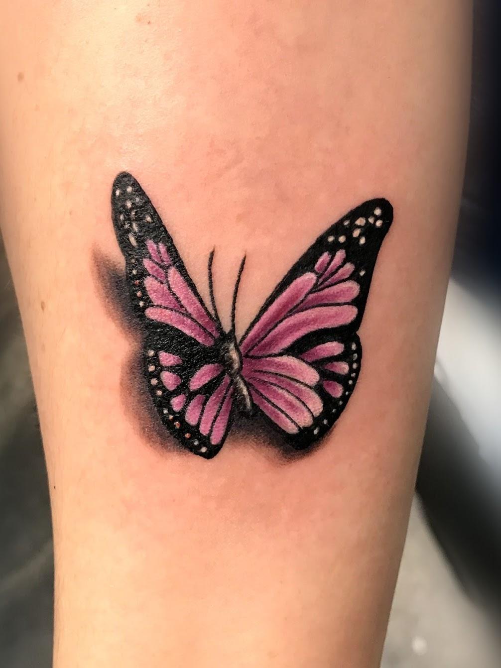 Tattoo-Schmetterling