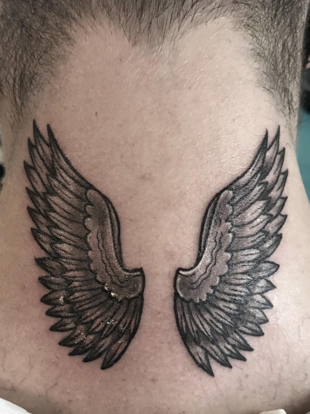 Tattoo-Flügel