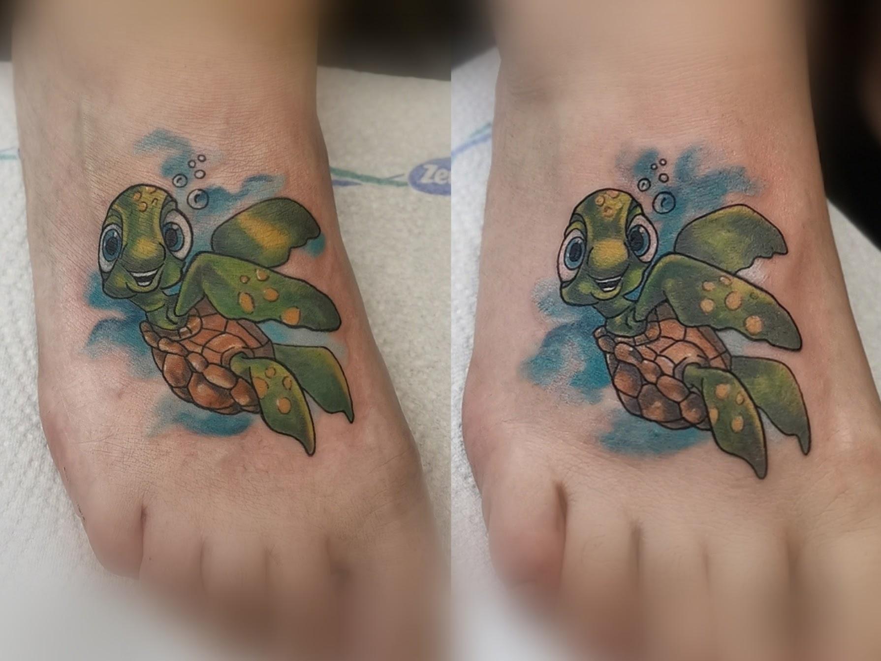 Tattoo-Schildkröte