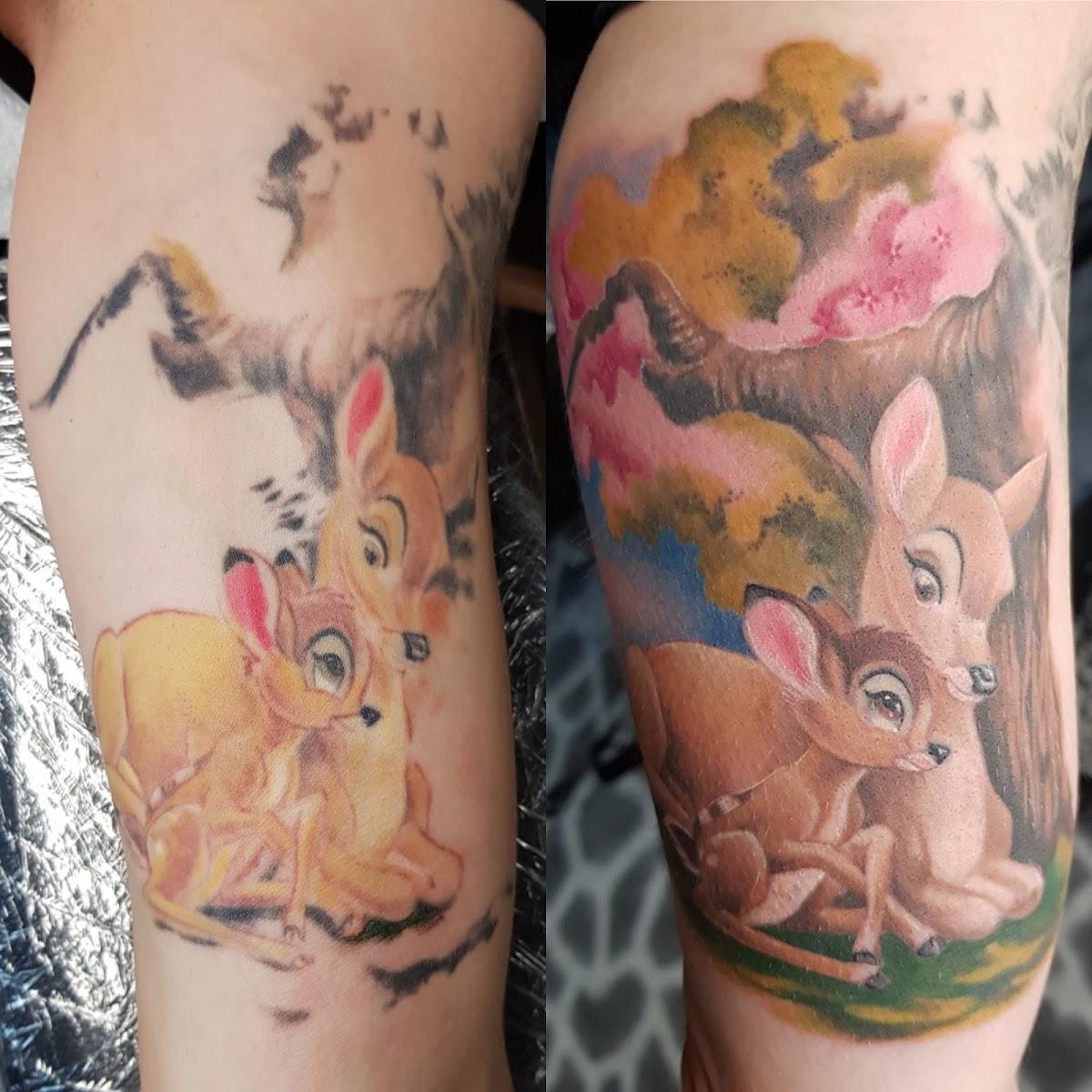 Tattoo-Bambi