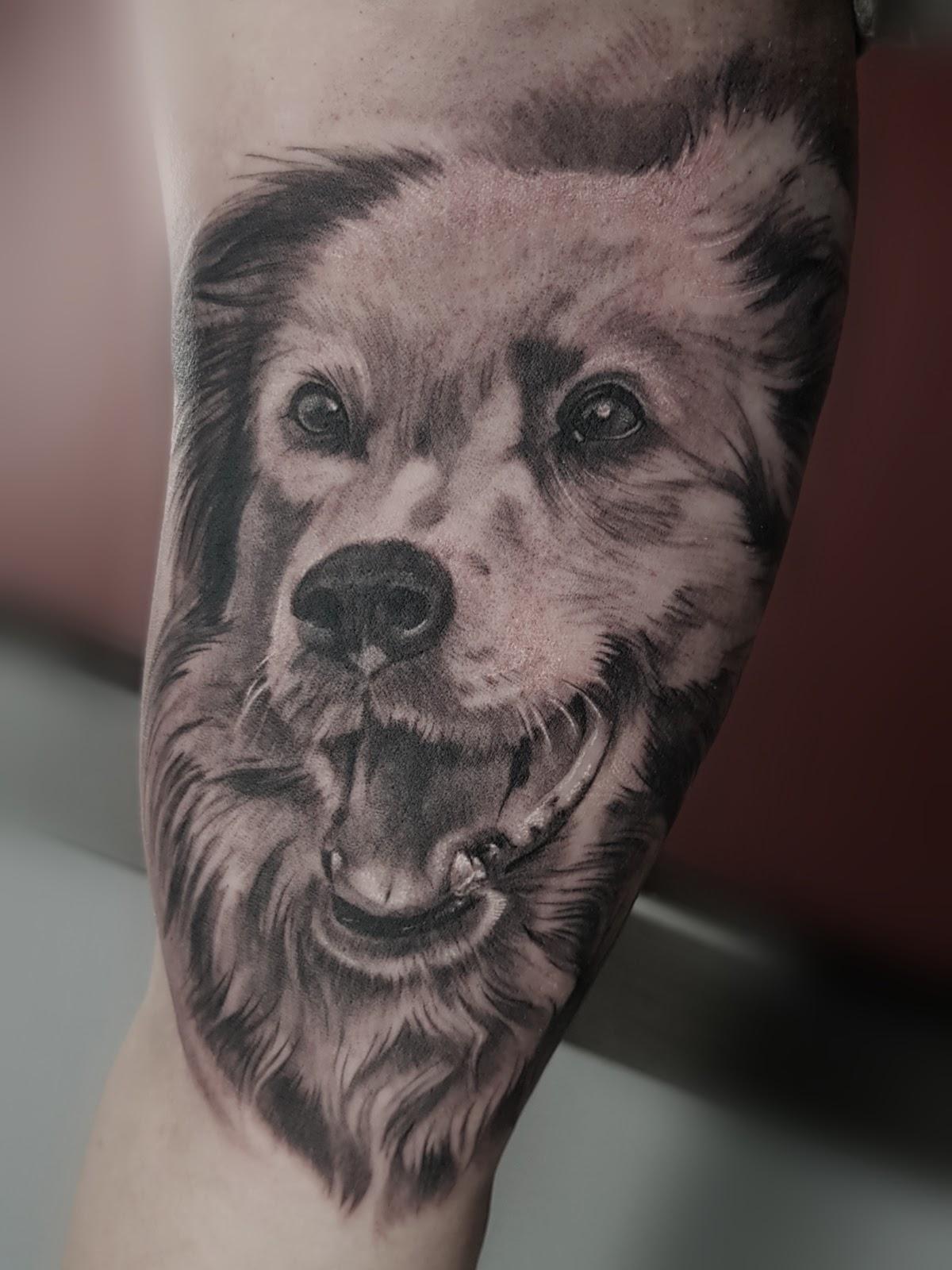 Tattoo-Hund