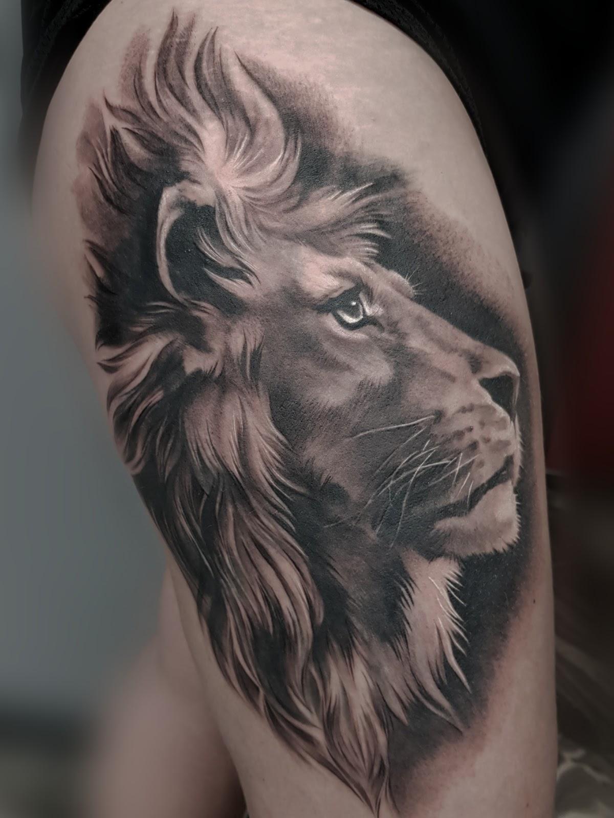 Tattoo-Loewe