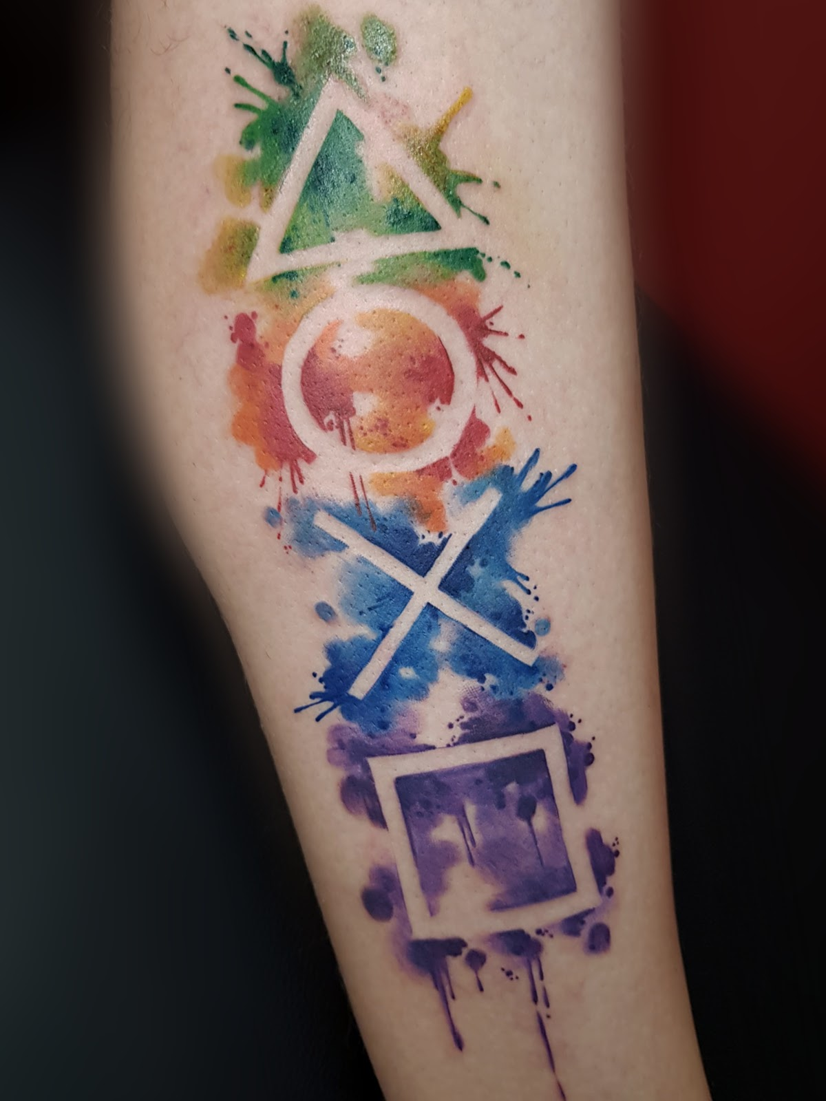 Tattoo-Play Station