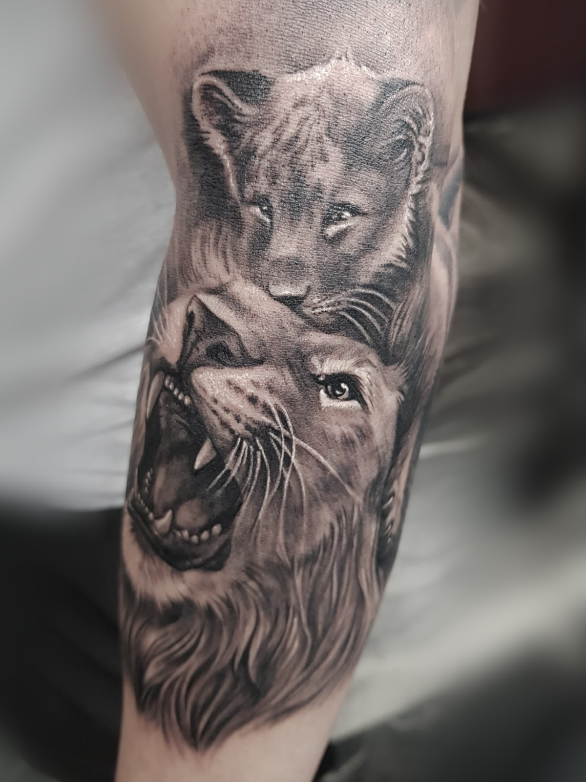 Tattoo-Loewen