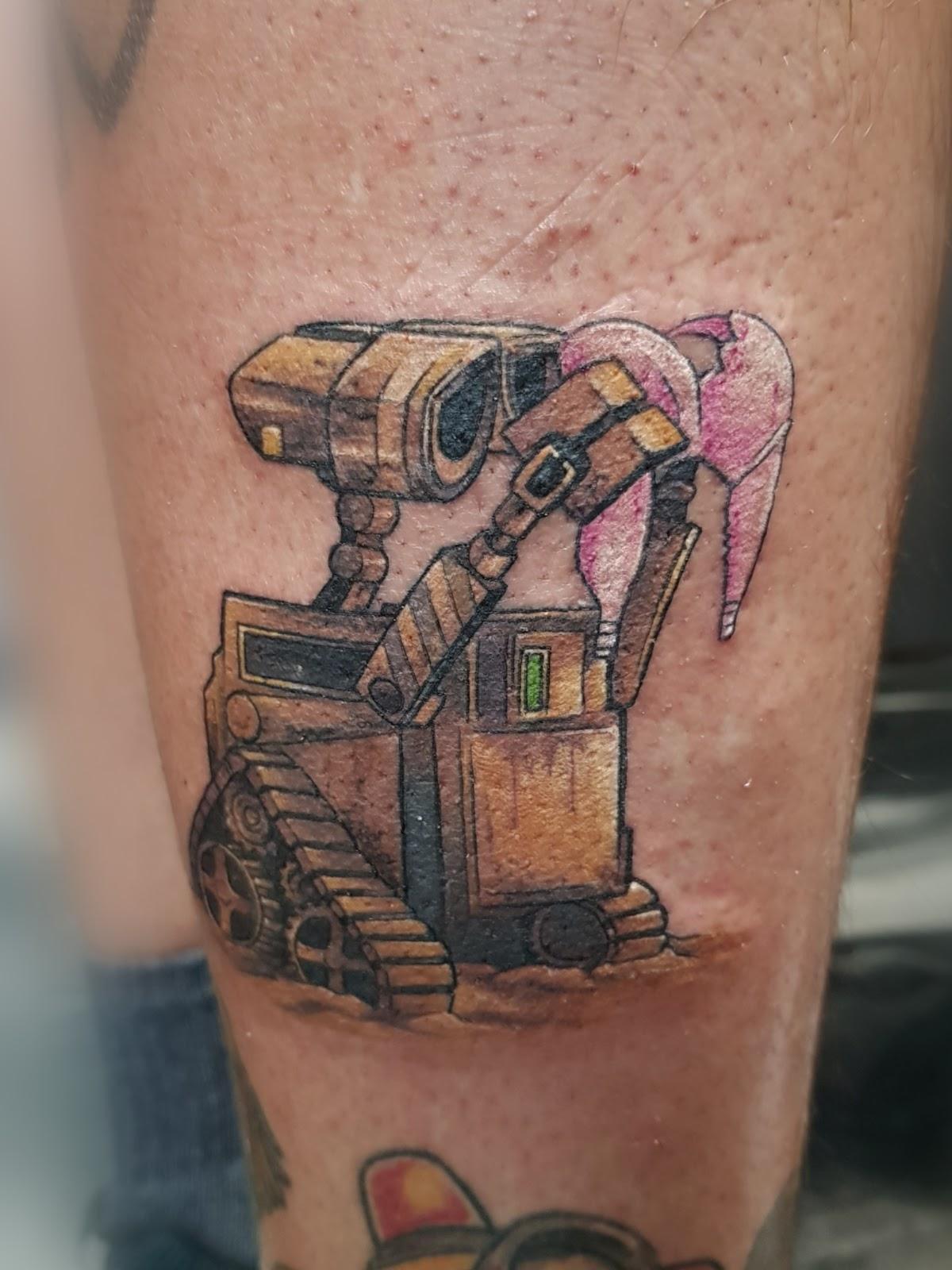 Tattoo-Roboter