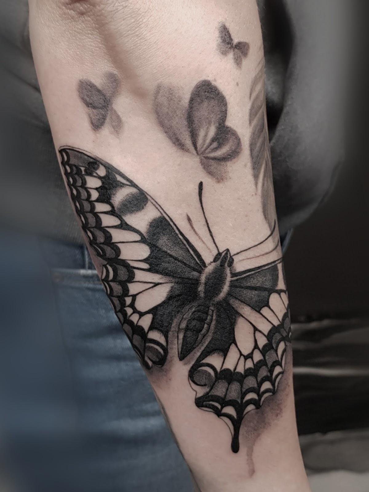 Tattoo-Schmmertelling