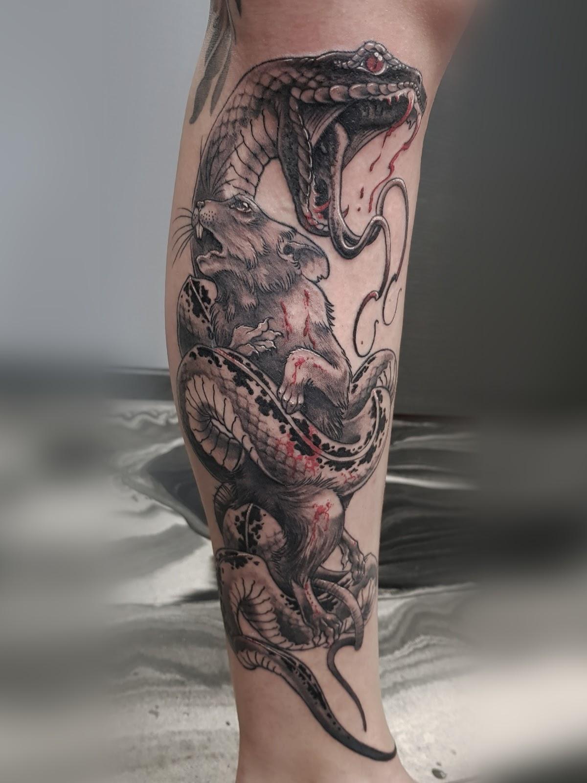 Tattoo-Schlange