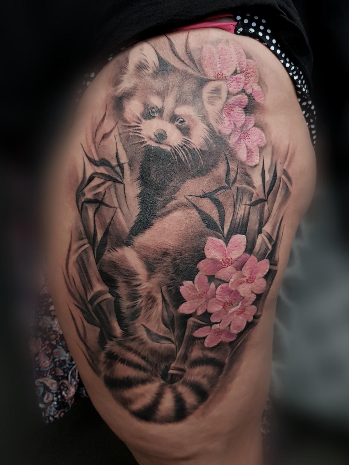 Tattoo-Waschbaer
