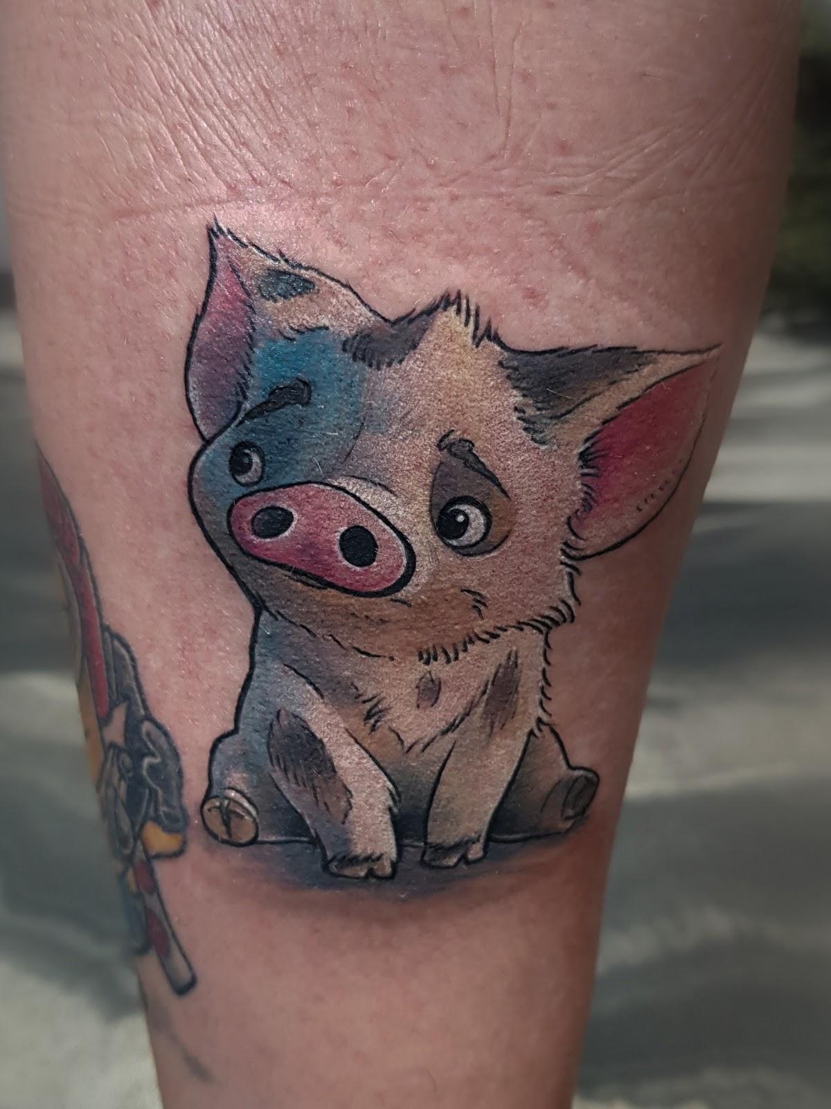 Tattoo-Schwein