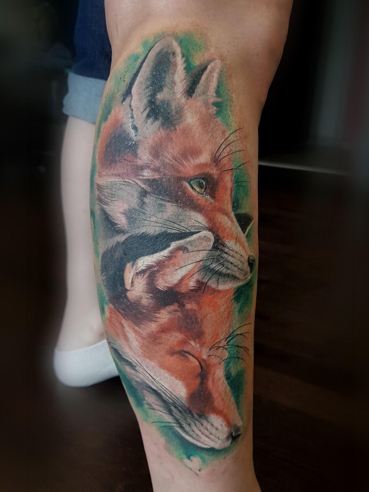 Tattoo-Fuchs