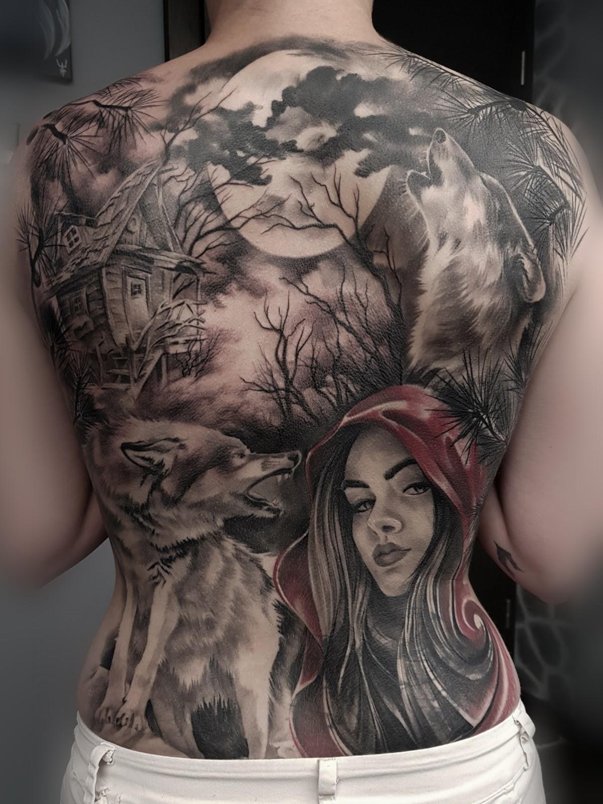 Tattoo-Rotkaeppchen