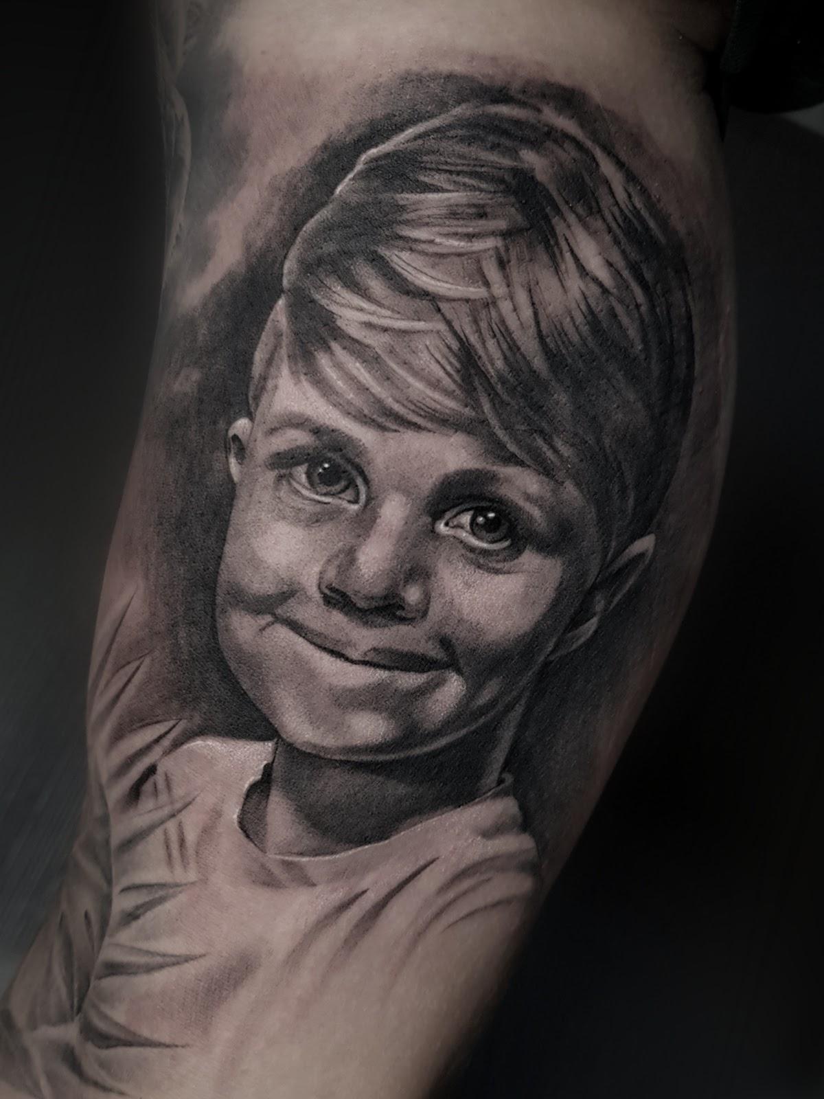 Tattoo-Kinderportraet
