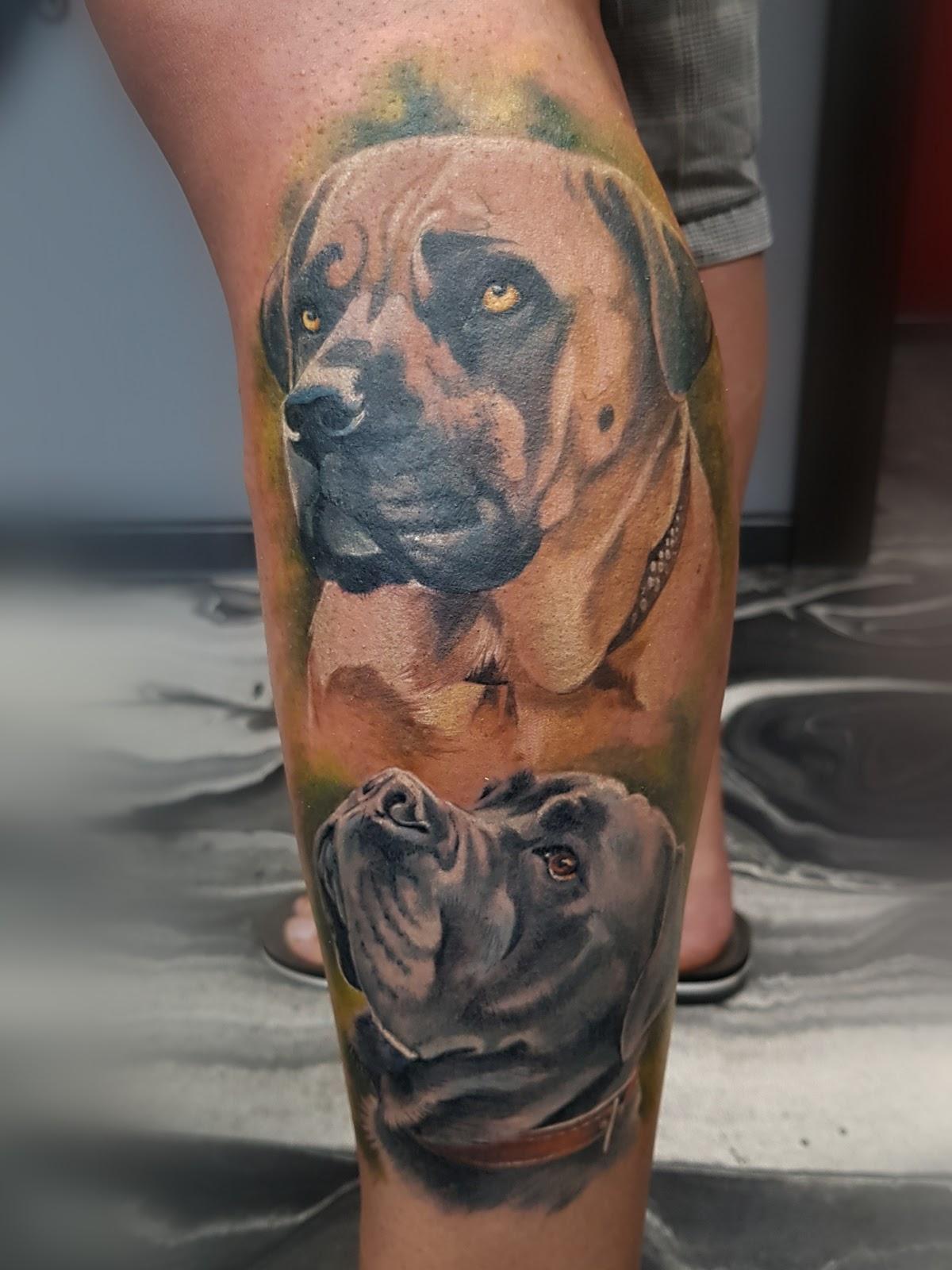 Tattoo-Hunde