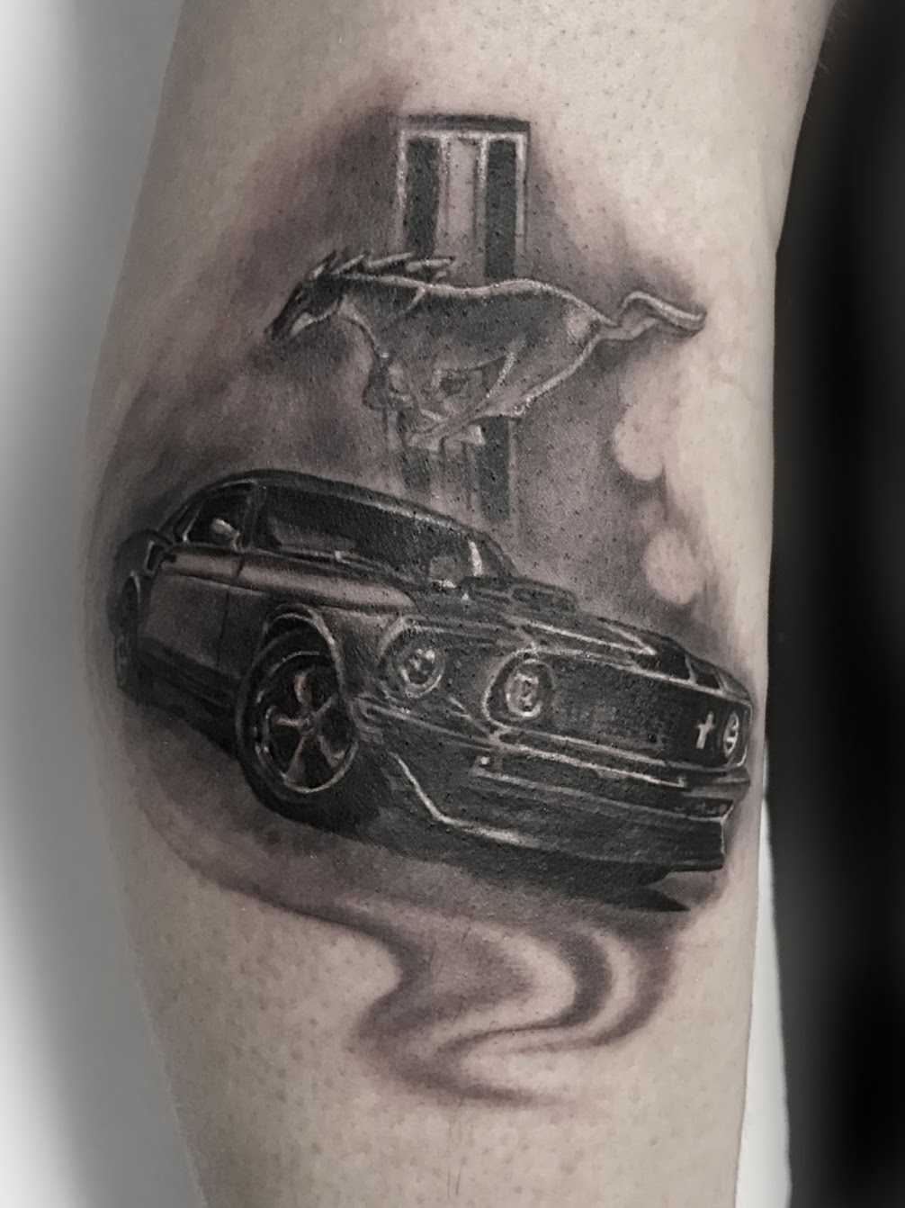 Tattoo-Ford Mustang