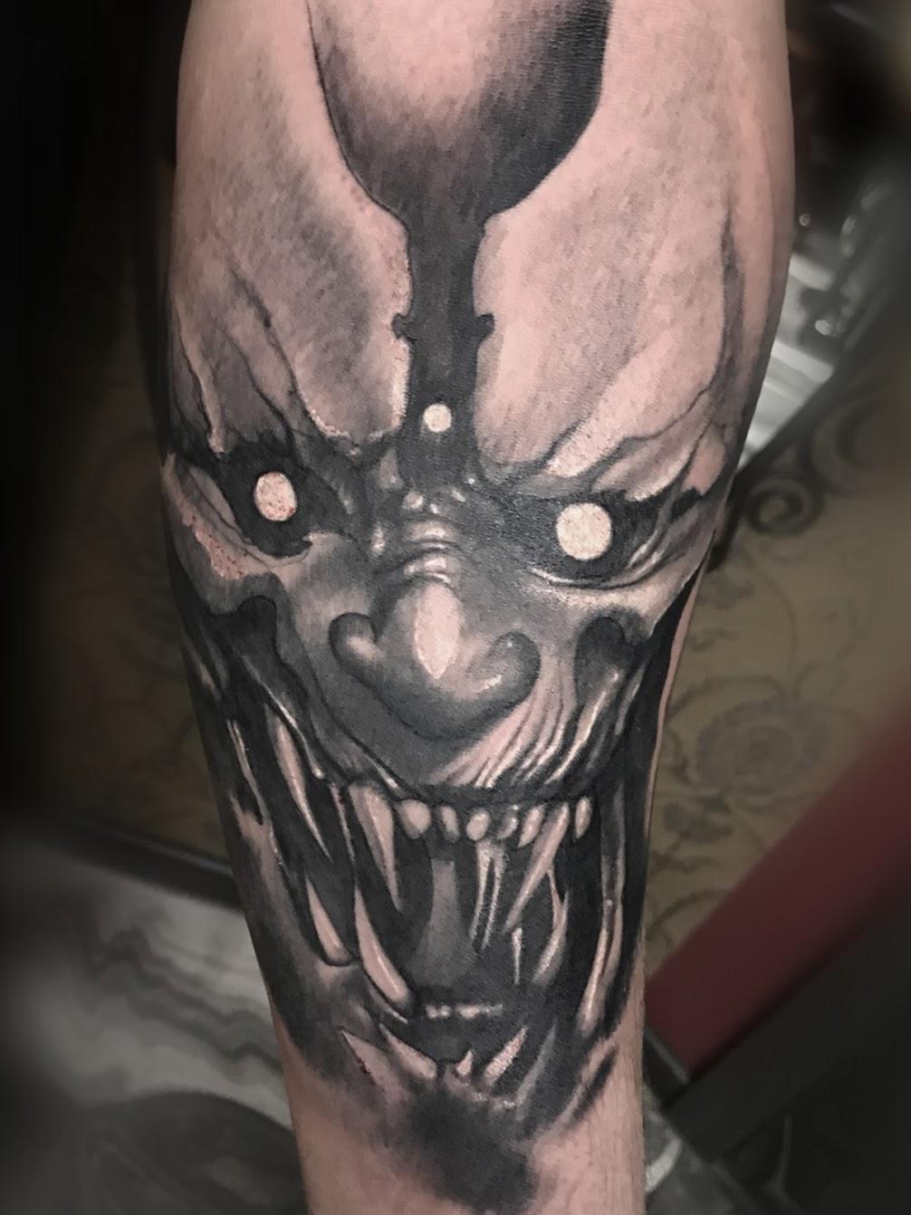 Tattoo-Horror-Clown