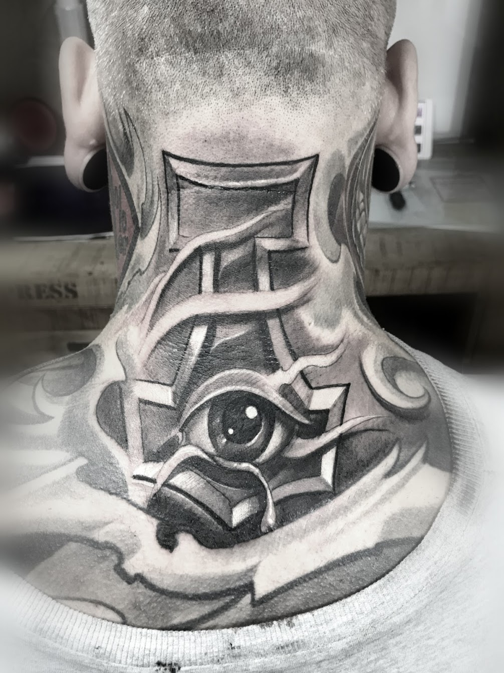 Tattoo-Nacken