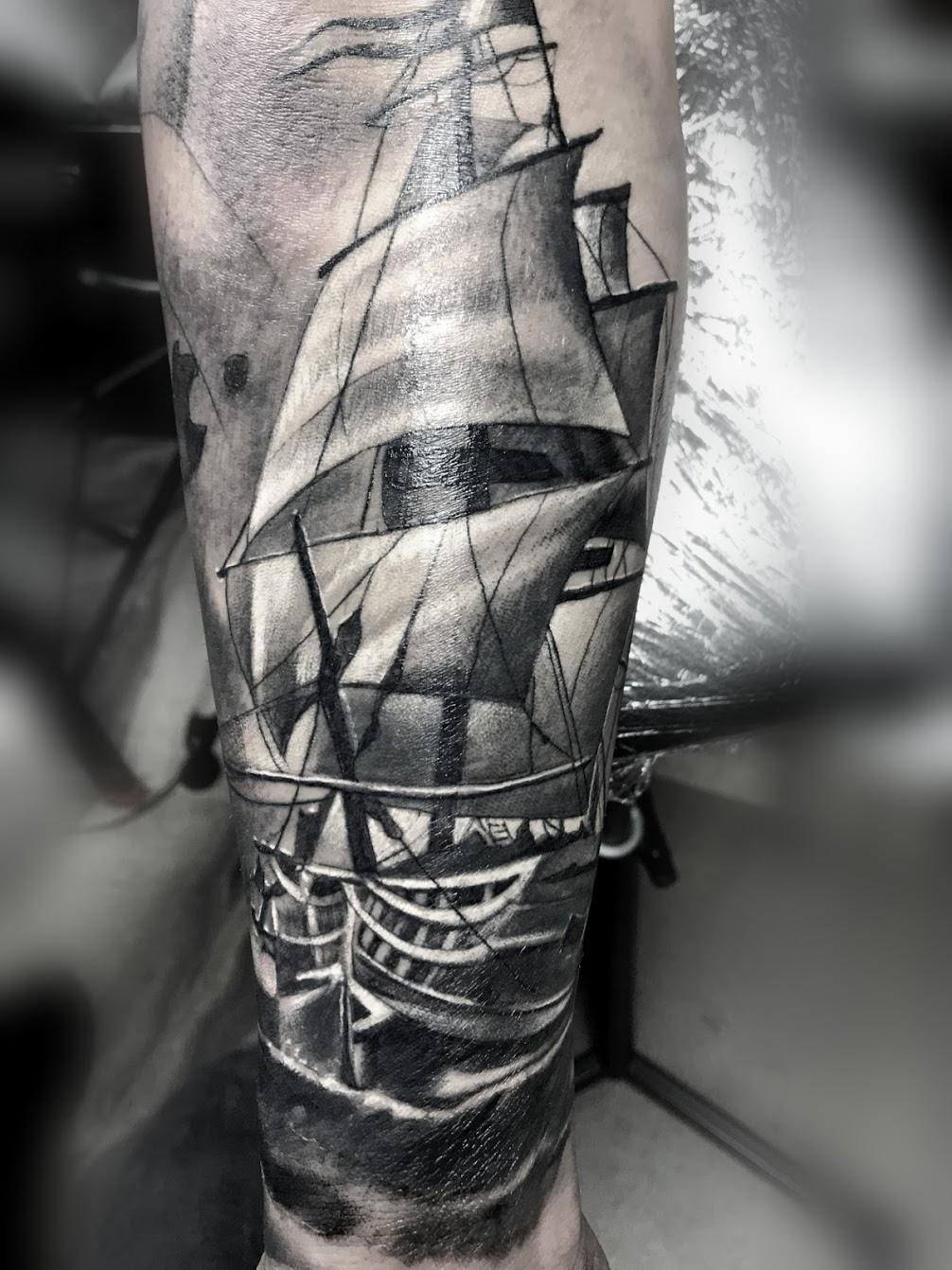 Tattoo-Schiff