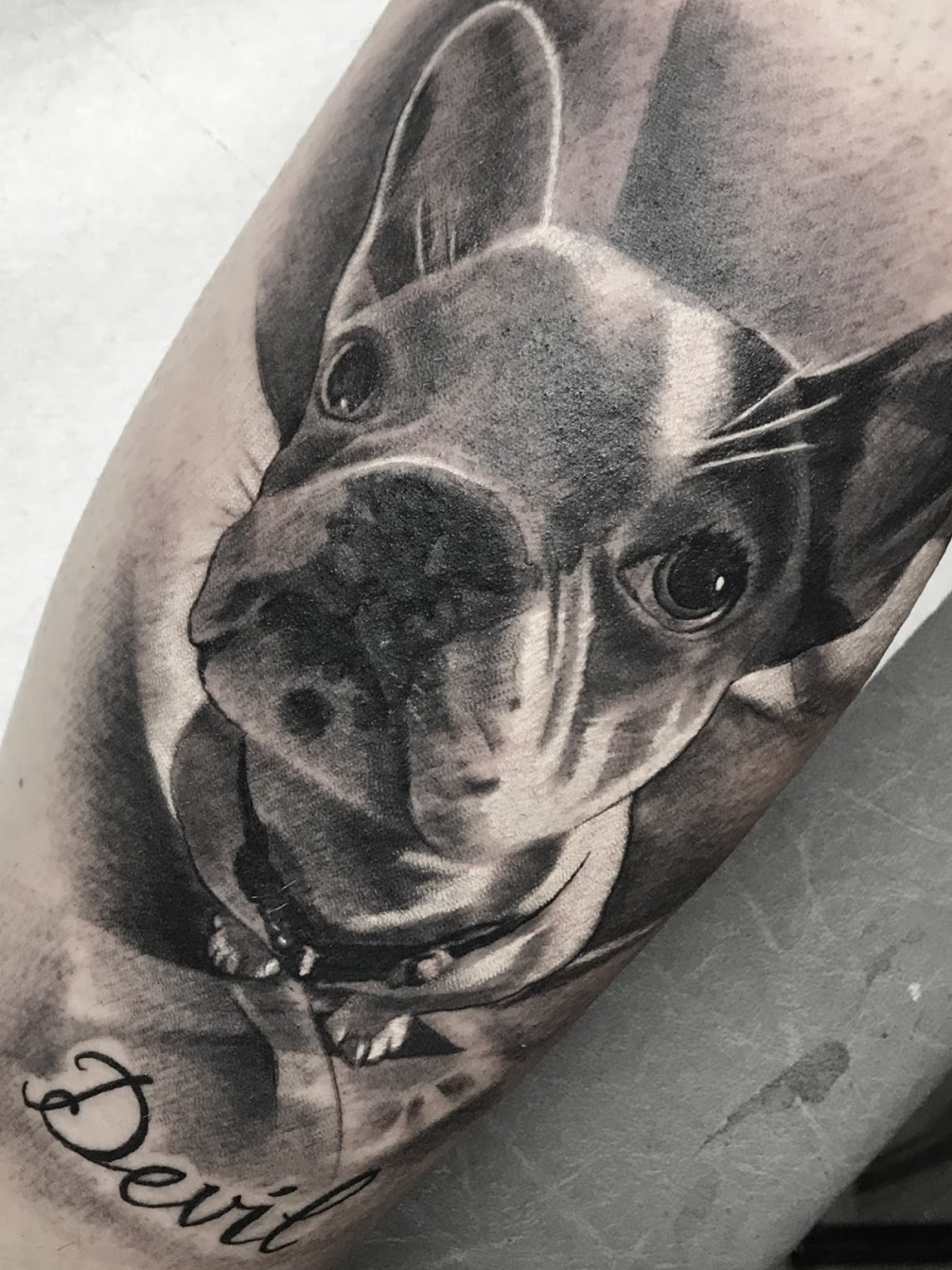 Tattoo-Welpe